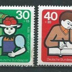 Sellos: ALEMANIA 1974, PRO JUVENTUD, SELLOS NUEVOS SIN CHARNELA. Lote 69442857
