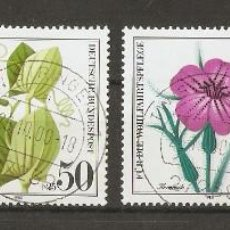 Sellos: ALEMANIA FEDERAL.1980. YV Nº 905/908. FLORES. Lote 73480487