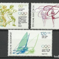 Timbres: ALEMANIA FEDERAL - 1984 - MICHEL 1206/1208** MNH. Lote 79779641