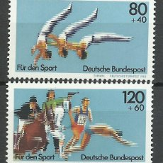 Timbres: ALEMANIA FEDERAL - 1983 - MICHEL 1172/1173** MNH. Lote 141146878