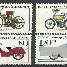 Sellos: ALEMANIA FEDERAL - 1983 - MICHEL 1168/1171** MNH. Lote 262077155