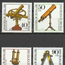 Timbres: ALEMANIA FEDERAL - 1981 - MICHEL 1090/1093** MNH. Lote 80170297