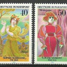 Sellos: ALEMANIA FEDERAL - 1976 - MICHEL 908/911** MNH. Lote 262077795