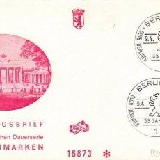 Sellos: ALEMANIA 1966 SOBRE PRIMER DIA SPD. Lote 81687440