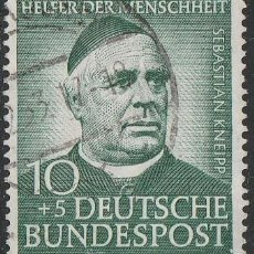 Sellos: ALEMANIA 1953. *,MH. IVERT # 60 . (17-676). Lote 83150132
