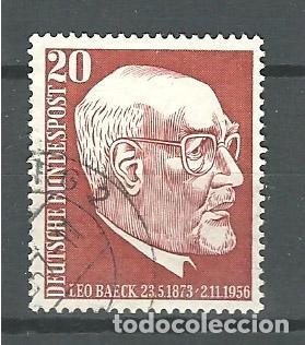 YT 152 ALEMANIA 1957 (Sellos - Extranjero - Europa - Alemania)