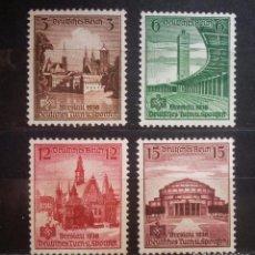 Sellos: XVI COMPETICIÓN DE GIMNASIA DEPORTIVA BRESLAU -1938- NUEVO - LUJO - ENVIÓ GRATIS. Lote 87554248