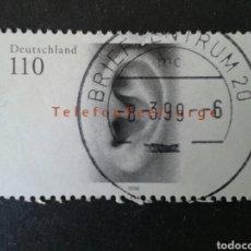 Timbres: ALEMANIA FEDERAL. YVERT 1853. SERIE COMPLETA USADA. SERVICIO DE ASISTENCIA POR TELÉFONO. Lote 88256115