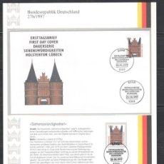 Sellos: GERMANY,ALEMANIA,1997,MICHEL 1938,MNH**,CANCELLED AND FDC. Lote 92874842