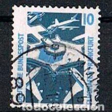 Sellos: ALEMANIA IVERT Nº 1179, AEROPUERTO DE FRANKFURT, USADO. Lote 93785055