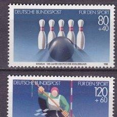 Sellos: ALEMANIA FEDERAL,1985,PRO DEPORTE,MICHEL 1238-1239,NUEVO,MNH**. Lote 235879370
