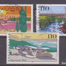 Sellos: ALEMANIA,1997,RFA.PAISAJES,MICHEL 1943-1945,USADO. Lote 95685815