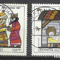 Sellos: 5671-ALEMANIA SERIE COMPLETA NAVIDADES 1997, VALOR 4,75€.. Lote 95827807