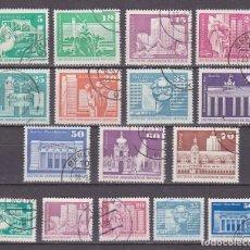 Sellos: ALEMANIA,DDR,SERIE GENERAL,MONUMENTOS,USADOS. Lote 96130964