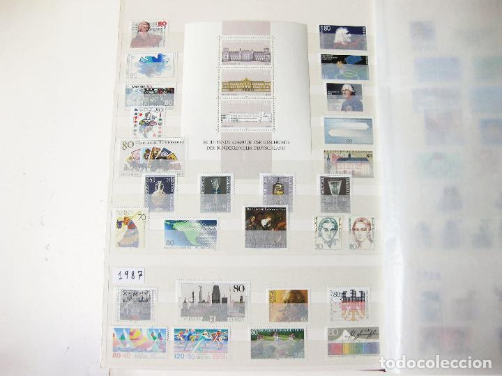 Sellos: COLECCION DE 1600 SELLOS SIN USAR DESDE HITLER HASTA EL AÑO 2000 - GERMAN DEUTSCHE BUNDESPOST MINT - Foto 11 - 99950779