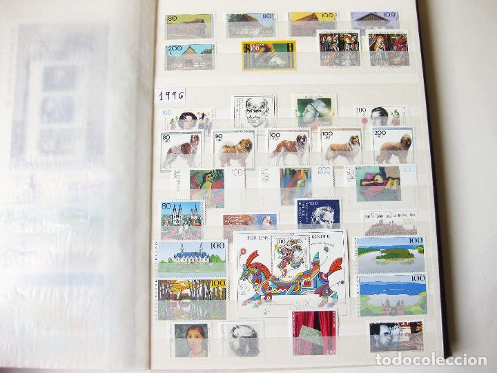 Sellos: COLECCION DE 1600 SELLOS SIN USAR DESDE HITLER HASTA EL AÑO 2000 - GERMAN DEUTSCHE BUNDESPOST MINT - Foto 26 - 99950779