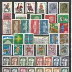 Sellos: SELLOS DE ALEMANIA. AÑO 1970 COMPLETO NUEVO. Lote 104559315