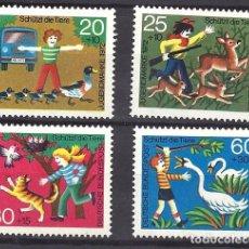 Sellos: YT 560-63 ALEMANIA 1972. Lote 211574514