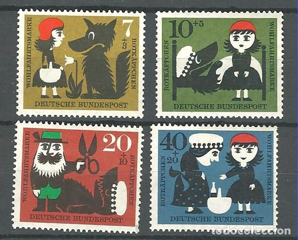 YT 213-16 ALEMANIA 1960 (Sellos - Extranjero - Europa - Alemania)