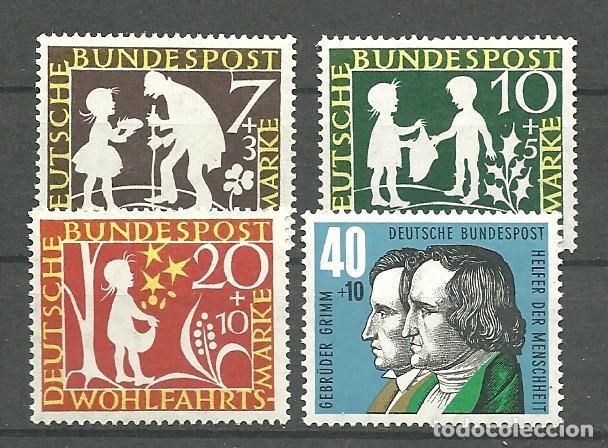 YT 195-98 ALEMANIA 1959 (Briefmarken - Internationale - Europa - Deutschland)