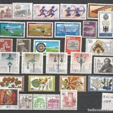 Sellos: SELLOS ALEMANIA-BERLÍN AÑO 1979 COMPLETO NUEVO. CATÁLOGO YVERT.. Lote 103636547