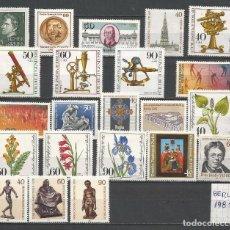 Sellos: SELLOS ALEMANIA-BERLÍN AÑO 1981 COMPLETO NUEVO. CATÁLOGO YVERT.. Lote 103637047