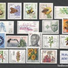 Sellos: SELLOS ALEMANIA-BERLÍN AÑO 1984 COMPLETO NUEVO. CATÁLOGO YVERT.. Lote 103637703