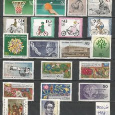 Sellos: SELLOS ALEMANIA-BERLÍN AÑO 1985 COMPLETO NUEVO. CATÁLOGO YVERT.. Lote 103637759