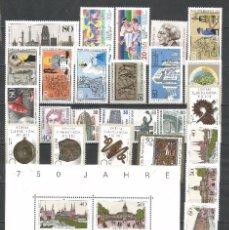 Sellos: SELLOS ALEMANIA-BERLÍN AÑO 1987 COMPLETO NUEVO. CATÁLOGO YVERT.. Lote 103638215