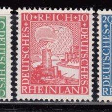 Sellos: ALEMANIA IMPERIO, 1925 YVERT Nº 365 / 367 / ** / . Lote 104287671