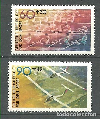 YT 926-27 ALEMANIA 1981 COMPLETA (Sellos - Extranjero - Europa - Alemania)