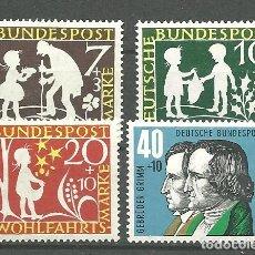 Briefmarken - YT 195-98 Alemania 1959 - 104825807