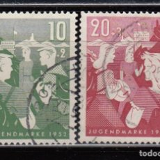 Timbres: ALEMANIA FEDERAL , 1952 YVERT Nº 39 / 40 . Lote 107044251