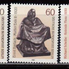 Sellos: ALEMANIA BERLIN , 1981 YVERT Nº 617 / 619 / ** / , . Lote 107196231