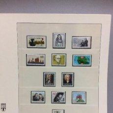Sellos: ALEMANIA 1985 COMPLETO - SELLOS COMPLETAMENTE NUEVOS SIN CHARNELA EN HOJA LINDNER. Lote 109111987