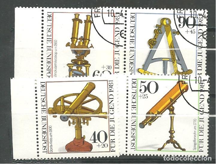YT 922-25 ALEMANIA 1981 (Sellos - Extranjero - Europa - Alemania)