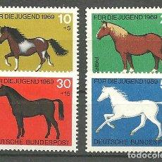 Sellos: YT 441-44 ALEMANIA 1969. Lote 183865936