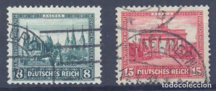 OFERTON, ALEMANIA IMPERIO , 1930 YVERT Nº 427 Y 428, VALOR CATALOGO 240 EUROS (Sellos - Extranjero - Europa - Alemania)