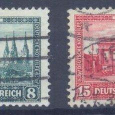 Sellos: OFERTON, ALEMANIA IMPERIO , 1930 YVERT Nº 427 Y 428, VALOR CATALOGO 240 EUROS. Lote 112940987