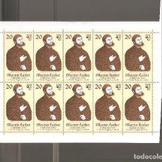 Sellos: SELLOS ALEMANIA DDR HOJAS EN NUEVO COMO FOTO LOTE 32. Lote 113071899