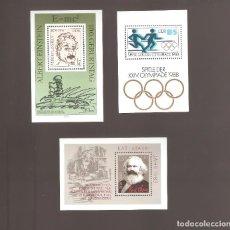 Sellos: SELLOS ALEMANIA DDR HOJAS EN NUEVO COMO FOTO LOTE 107. Lote 113102551