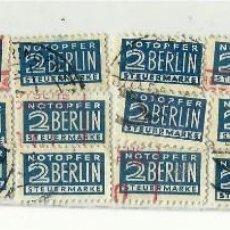 Sellos: NOTOPFER. BERLIN.. Lote 114650911