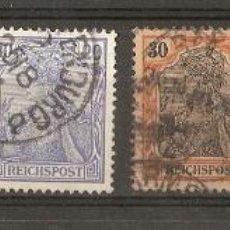 Sellos: ALEMANIA IMPERIO.1900. GERMANIA .REICHPOST.. Lote 115295167