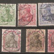 Sellos: ALEMANIA IMPERIO.1902. GERMANIA .DEUTSCHES REICH.. Lote 115295951