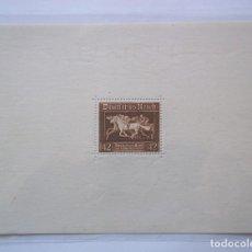 Sellos: HOJA DE BLOQUE ALEMANIA TERCER REICH 1936 ESVASTICA. Lote 116189019