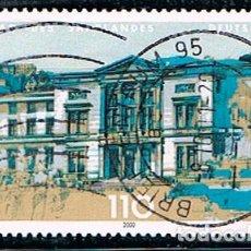 Sellos: ALEMANIA IVERT Nº 1985, PARLAMENTO DEL LANDER DE SARRE EN SARREBRÜCK, USADO. Lote 117940087