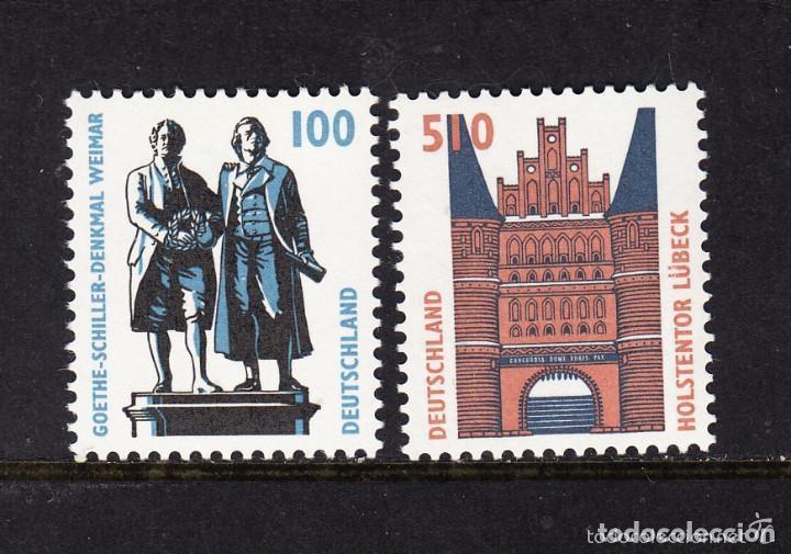 ALEMANIA FEDERAL 1997 IVERT 1771/2 *** SERIE BÁSICA - MONUMENTOS (Sellos - Extranjero - Europa - Alemania)