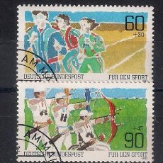 Sellos: ALEMANIA 1982 DEPORTES - 1/1. Lote 118589475