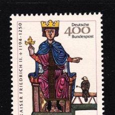 Sellos: ALEMANIA 1994 IVERT 1567 *** 8º CENTENARIO DEL NACIMIENTO DEL EMPERADOR FEDERICO II. Lote 119131555