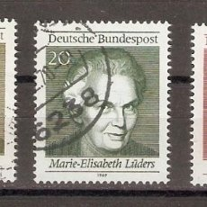 Sellos: ALEMANIA FEDERAL. 1969. YT 461/463. Lote 124284567